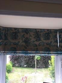 Laura Ashley roman blinds x 3