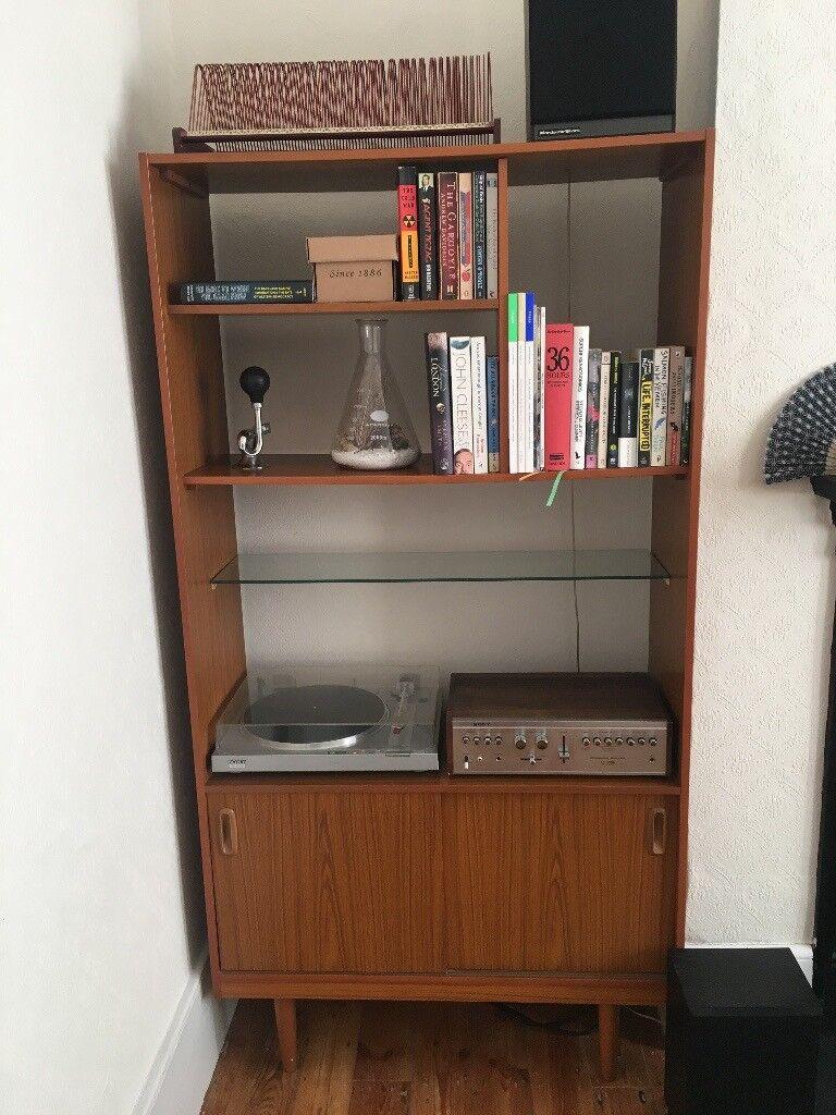 Tremendous Retro Schreiber Teak Style Room Divider Bookcase Unit 60 70S Interior Design Ideas Tzicisoteloinfo