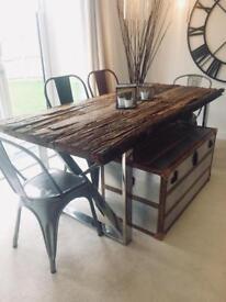 Designer driftwood coffee table