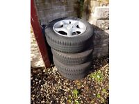 4×100 r13 alloys with good tyres
