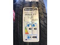 Continental van tyres 235/65/16
