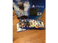 PS4 500GB + 10 games inc Call Of Duty Battlefront Fifa
