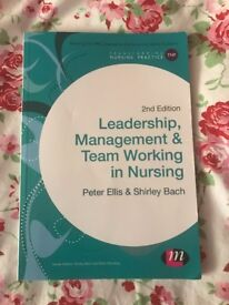Nursing degree books (Management and leadership)