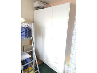 WARDROBE WITH 3 DOORS & 3 DRAWERS