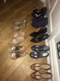 Size 4 ladies shoes