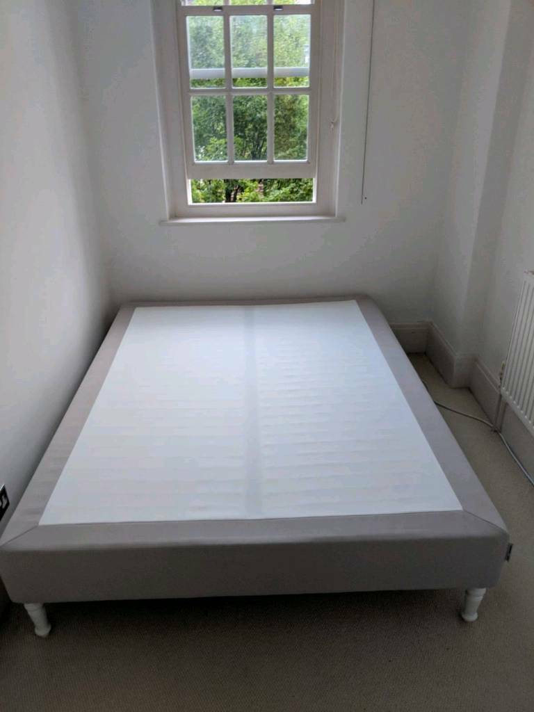 Ikea Espevar Mattress Base King Size Bed Washable Beige Cover With