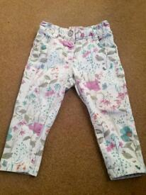 NEXT girl trousers 12-18m