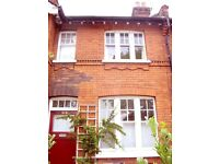 2 Bed house and garden. Pets welcome. Right next to Alexandra Park. Near Crouch End.