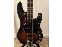 Fender american deluxe p/j bass
