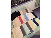 Large Bundle Of Bed Linen - (34+ Pieces)