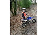 50cc mini moto brand new used twice