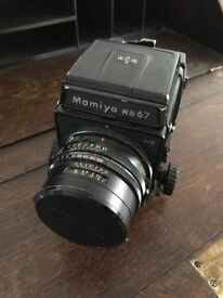 Mamiya RB67 Pro S - 127mm Lens and Waist Level View Finder