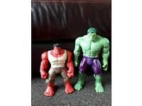 Incredible hulk figures
