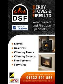 Supply & Install Woodburners & Gas Fires