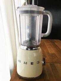 SMEG 50s retro style food blender in CREAM - LIKE NEW!!!