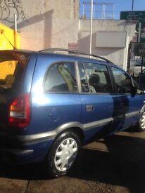 Vauxhall Zafira comfort DTI 16V
