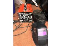 Sell Welding Transformer and two mask
