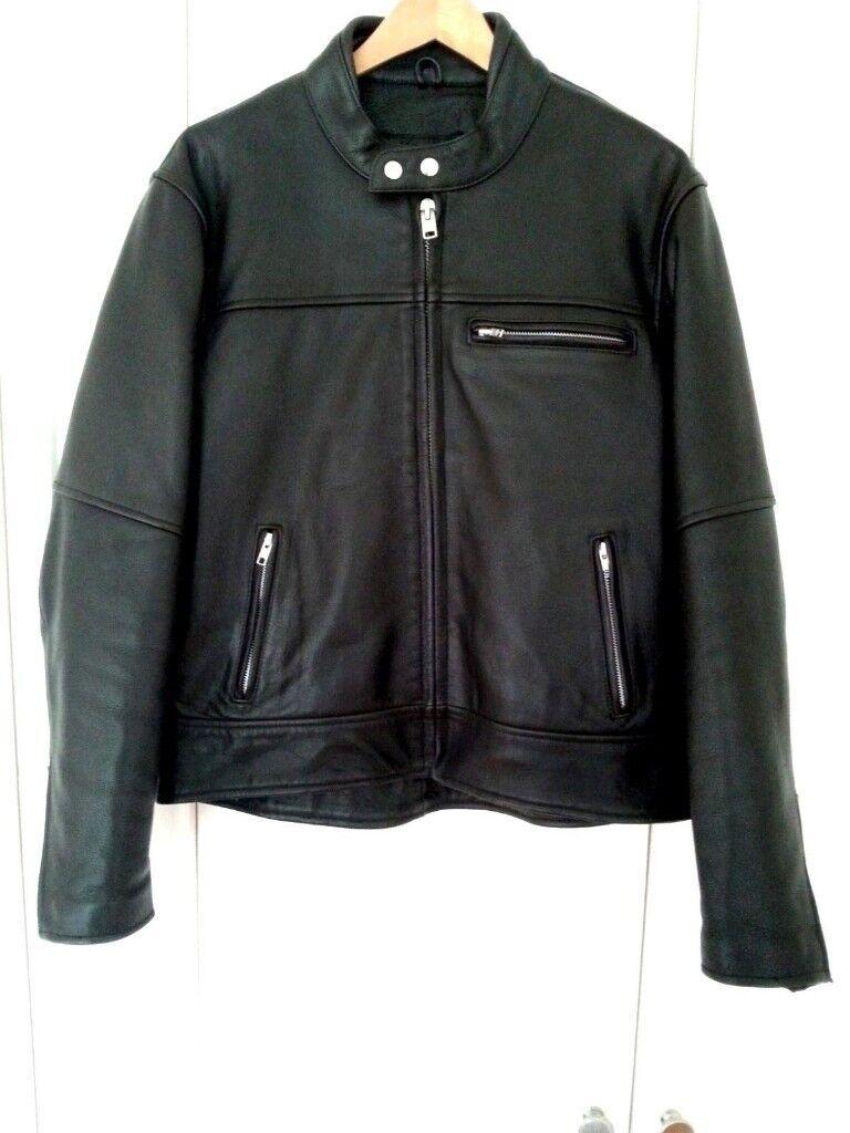 ee94b91c67c davida leather motorcycle jacket mens mk1 tag 44 henry cole