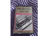 The Beatles 1962 - 1966 cassette