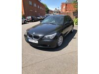 BMW 525D automatic, long MOT, full search history, leather interior for quick sale
