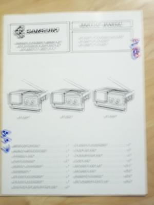Samsung Service Manual for the BT-123AT BT-123AJ BT-123AP TV Radio   mp Samsung Tv Service Manual