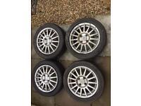 "Ford Fiesta Zetec S 15"" Alloys"