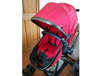 Mothercare Orb pram/pushchair - red