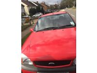 Ford Fiesta 1.25 MK 4 Hatchback Red Cheapest functioning car in Watford