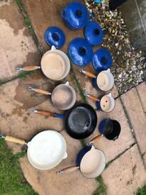 Le Creuset pots