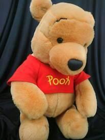 Winnie the pooh and eeyore Disney soft toys