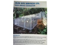 from private housing to commercial property , from extenstions to grass cutting, fencing iron gates