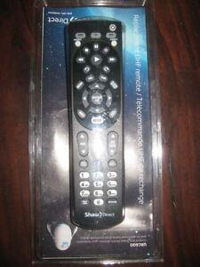 Shaw Direct UHF Wireless Remote Control. For ur Satellite Receiver. LED TV. Audio Receiver. Programmable. NEW
