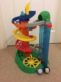Thomas rail roller spiral station