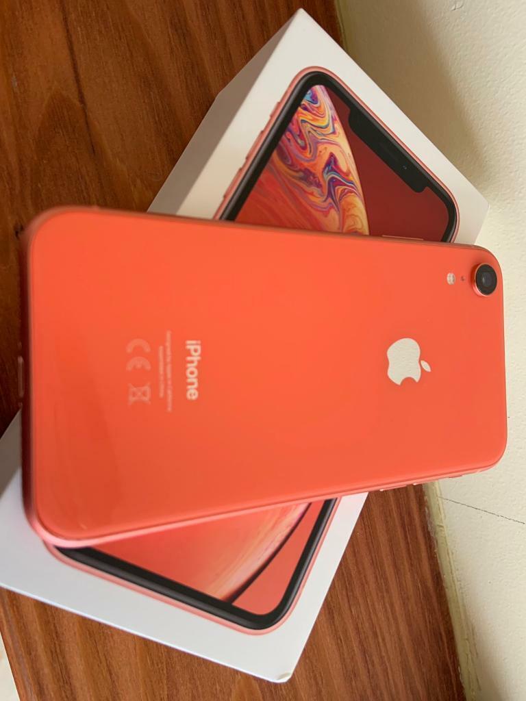 Apple iPhone XR 64 gb coral unlocked | in Luton, Bedfordshire | Gumtree