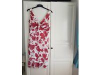 Size 14 Red/white dress
