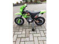Children's electric ride on scrambler motor cross motorbike