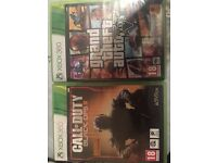2 games for sale includes GTA 5 and COD BLACK OPS 111