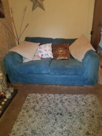 Teal Sofa for quick sale!!
