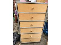 Small drawer unit. Used with marks