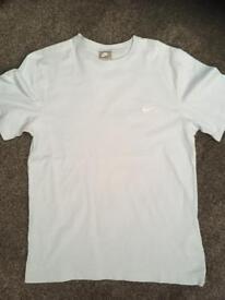 Nike sky blue tshirt age 12-13 years