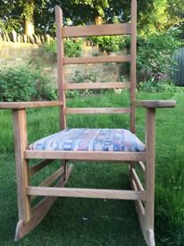 Rocking chair, handmade, contemporary style