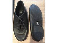Starlite soft black leather jazz shoe size2.5