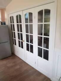 Internal glazed doors Set Of 4