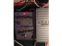 Akai D1 Shred-o-matic tube distortion pedal