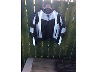 Leather motorcyle Jacket