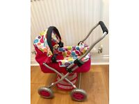 Molly Doll Pram in excellent condition