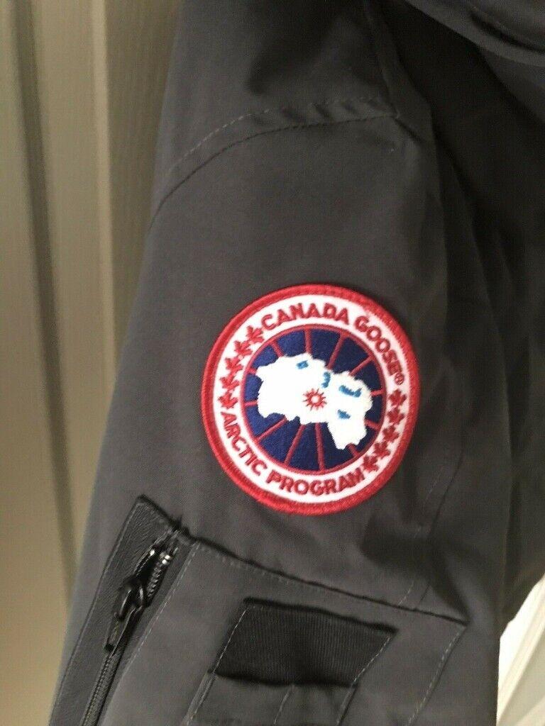 Canada Goose Montebello Parka Fur Hooded Padded Winter Jacket Coat BLACK SIZE UK 12 14 | in Carlton, Nottinghamshire | Gumtree