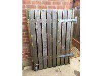 Wooden Gate, double sided