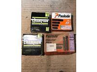 Paslode and champion nails for nail gun
