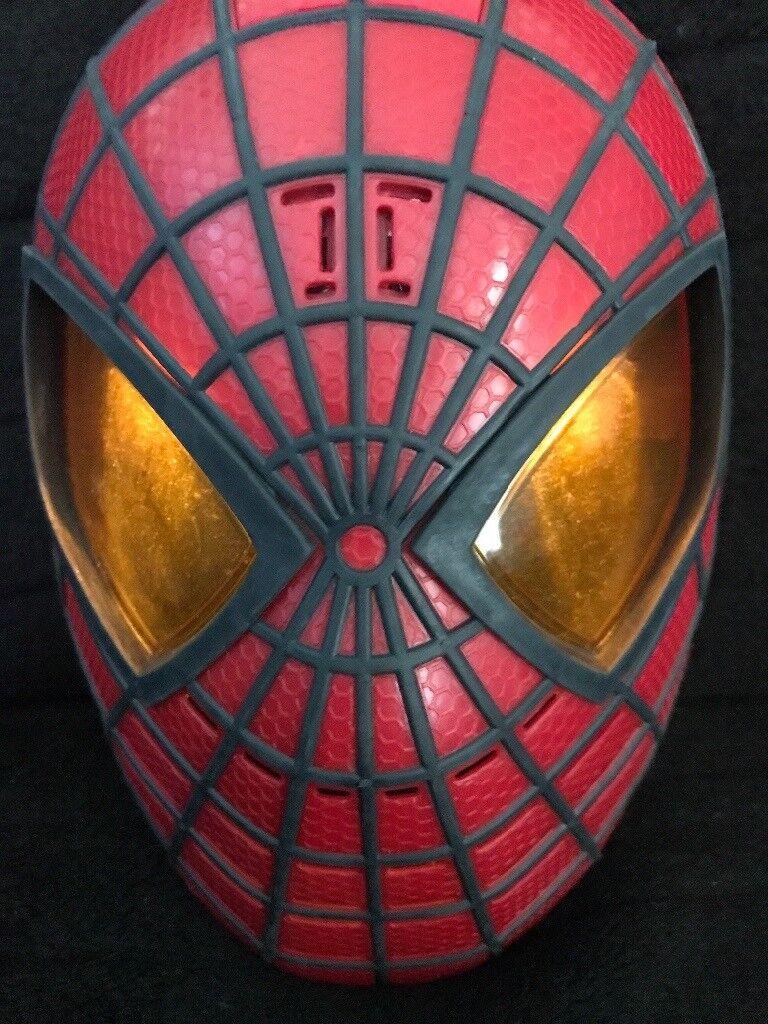 Spider man mask and glove
